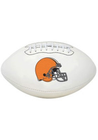Cleveland Browns Official Team Logo Autograph Football