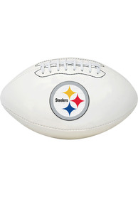 Pittsburgh Steelers Official Team Logo Autograph Football