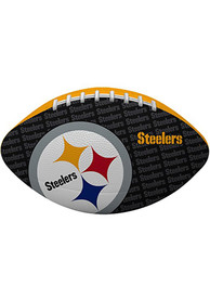 Pittsburgh Steelers Gridiron Junior Size Rubber Football