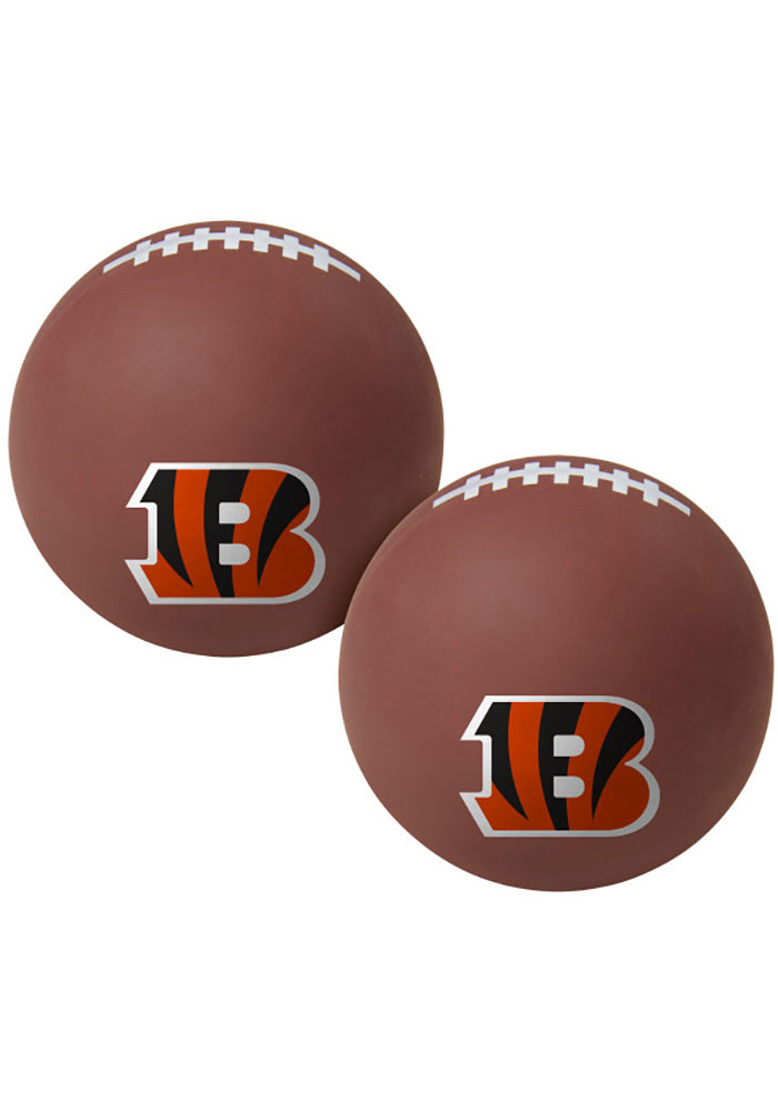 Cincinnati Bengals Brown Hi Fly Bouncy Ball - Image 1