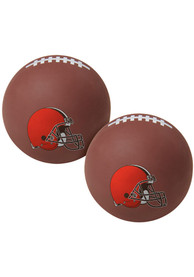 Cleveland Browns Brown Hi Fly Bouncy Ball
