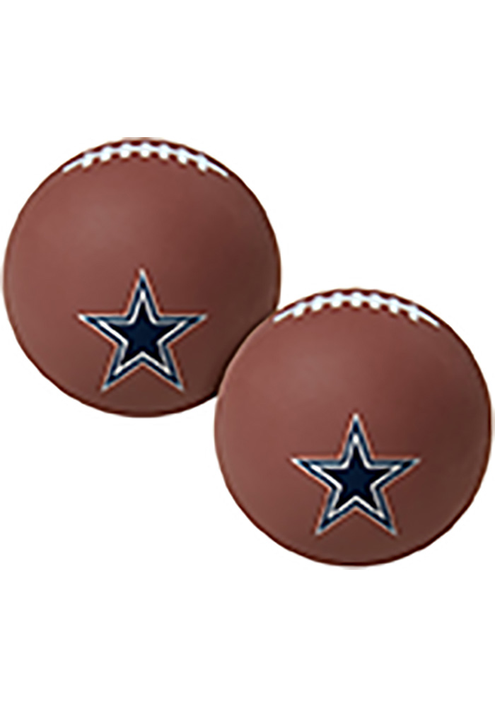 Dallas Cowboys Brown Hi Fly Bouncy Ball - Image 1
