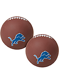 Detroit Lions Brown Hi Fly Bouncy Ball