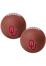 Oklahoma Sooners Crimson Big Fly Bouncy Ball