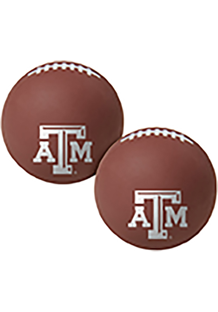Texas A&M Aggies Red Big Fly Bouncy Ball - Image 1