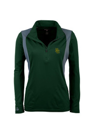 Antigua Baylor Bears Juniors Delta Green 1/4 Zip Pullover