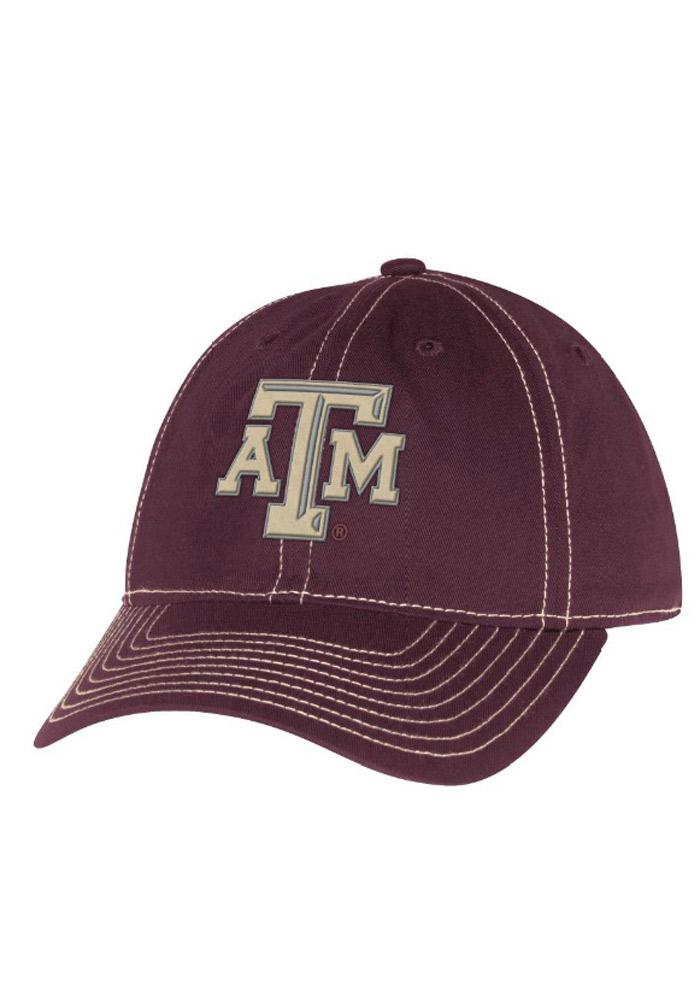 Adidas Texas A&M Aggies Maroon Lace Undervisor Slouch Womens Adjustable Hat - Image 1