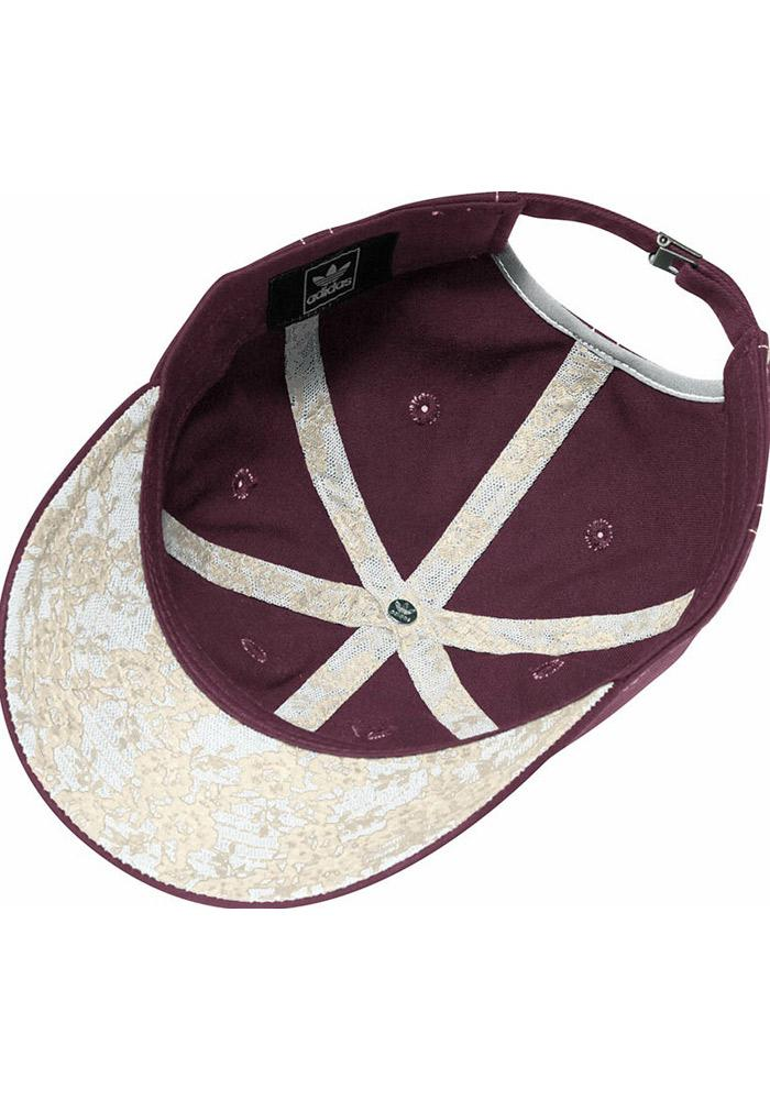 Adidas Texas A&M Aggies Maroon Lace Undervisor Slouch Womens Adjustable Hat - Image 3