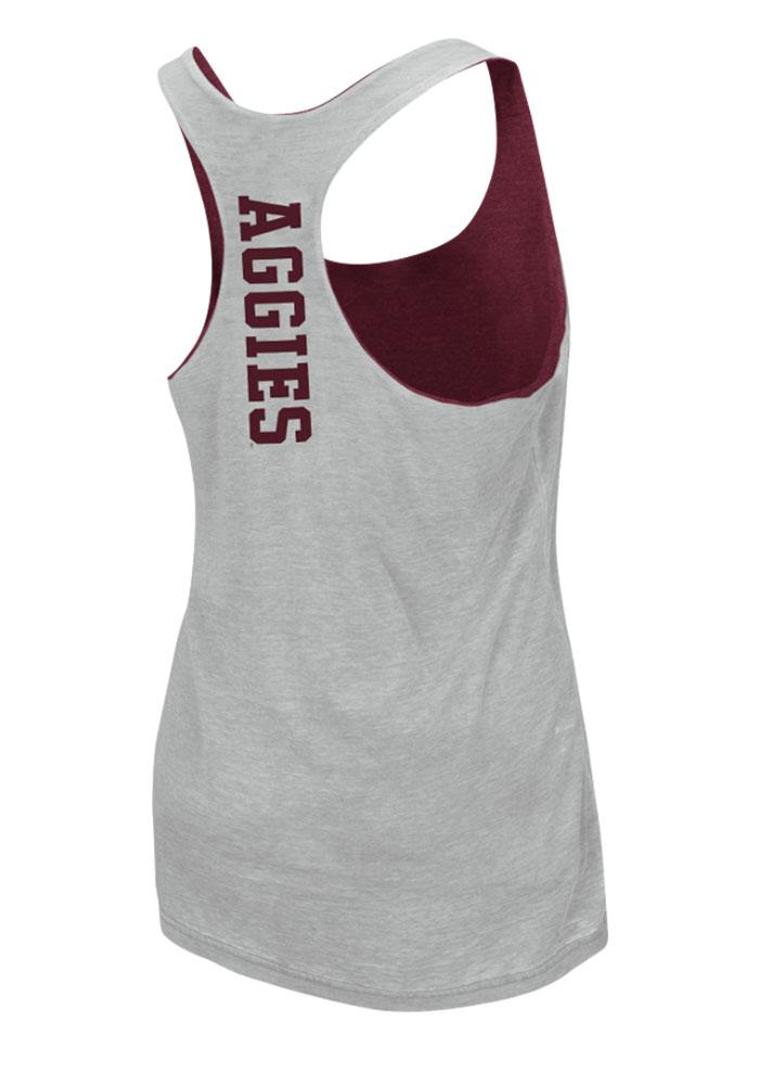 Colosseum Texas A&M Aggies Juniors Maroon Duo Tank Top - Image 5