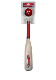 Cincinnati Reds Wood Grain Grand Slam Bat and Ball Set