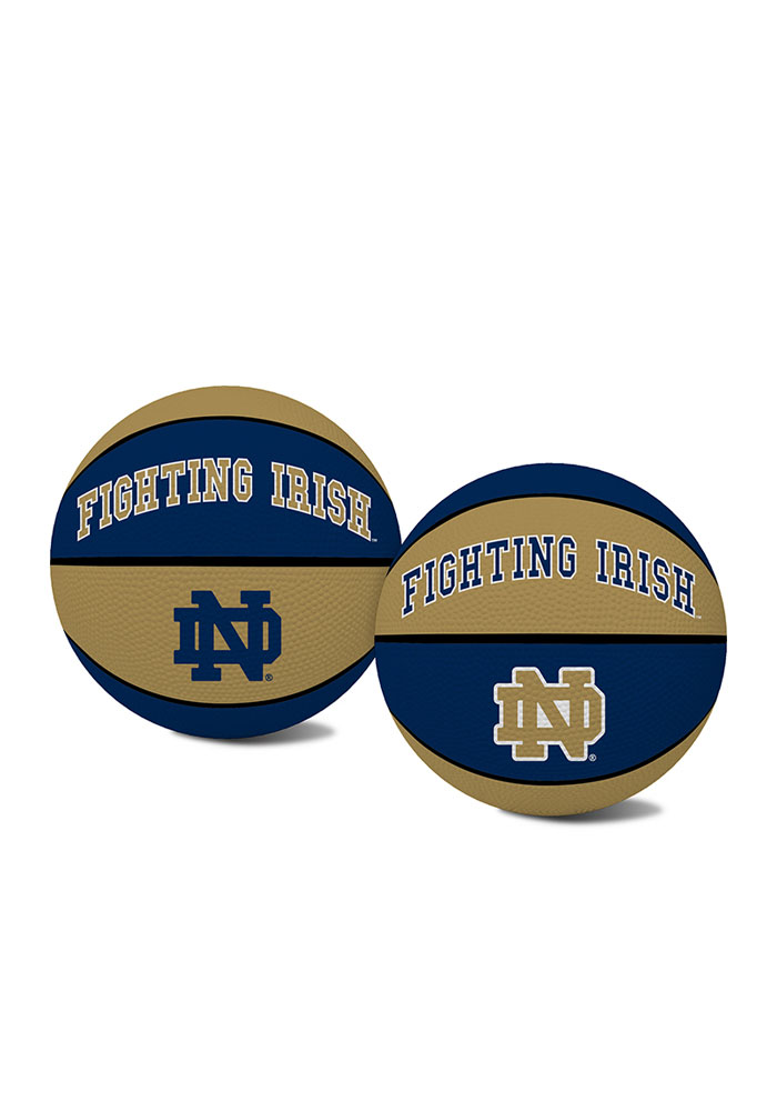 Notre Dame Fighting Irish Alley Oop Youth-Size Rubber Basketball - Image 1