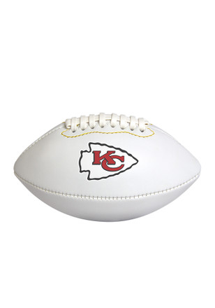 Kansas City Chiefs Official Team Logo Autographed Football