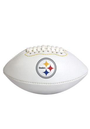 Pittsburgh Steelers Official Team Logo Autographed Football