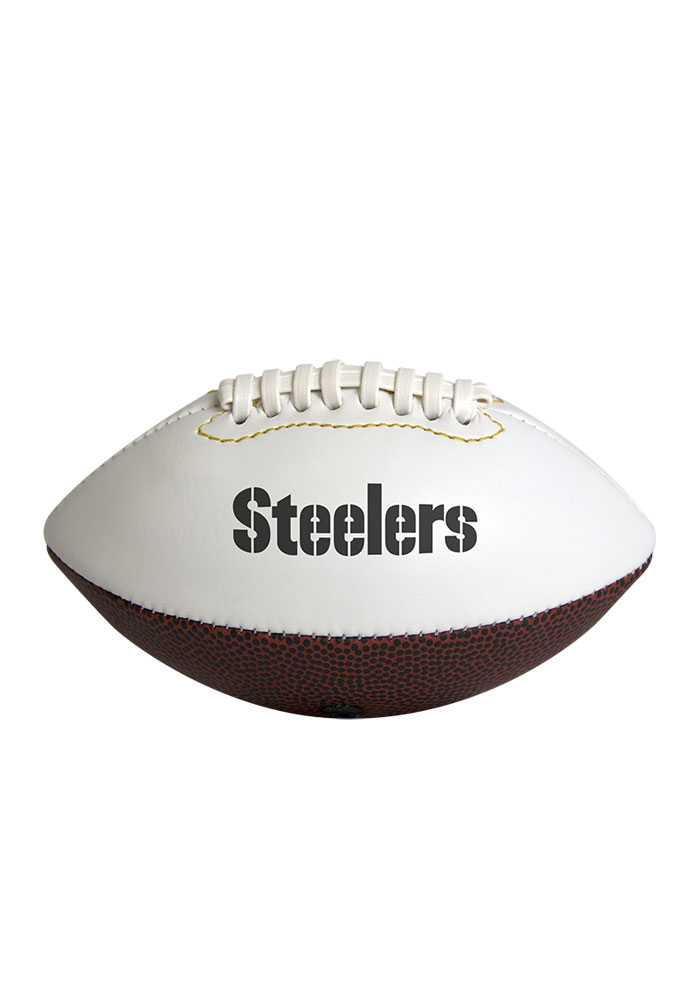 Pittsburgh Steelers Official Team Logo Autograph Football - Image 2