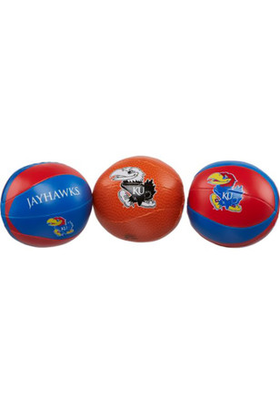 Kansas Jayhawks Three Point Softee Softee Ball