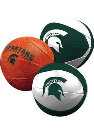 Michigan State Spartans Three Point Softee Softee Ball