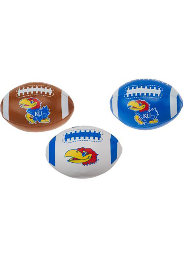 Kansas Jayhawks Third Down Softee Softee Ball - Image 1