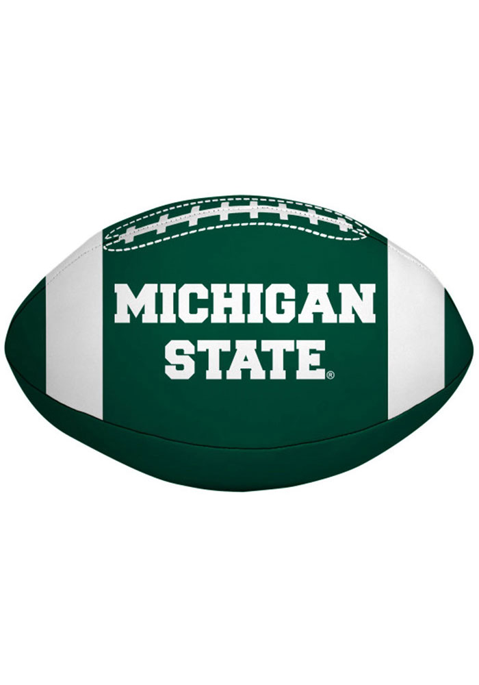 Michigan State Spartans 4 inch Quick Toss Softee Ball - Image 2
