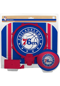 Philadelphia 76ers Slam Dunk Hoopset Basketball Set