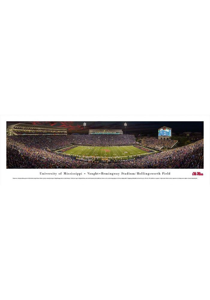 Ole Miss Rebels Matchup Unframed Poster - Image 1