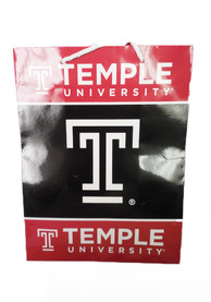 Temple Owls Medium Red Gift Bag