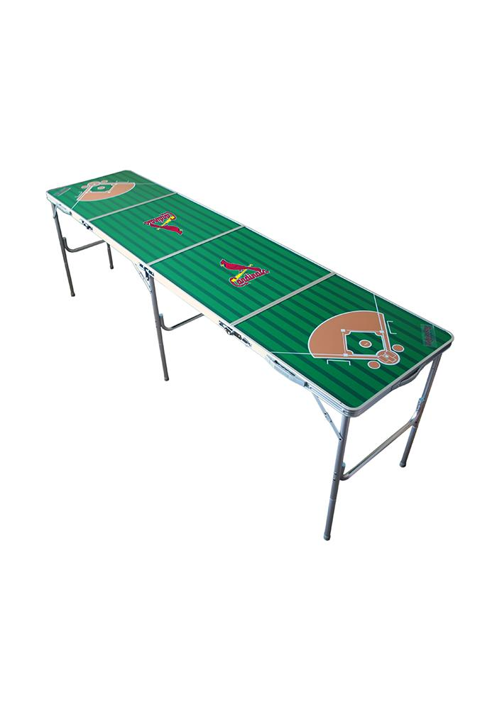 St. Louis Cardinals 2x8 Tailgate Table - Image 1