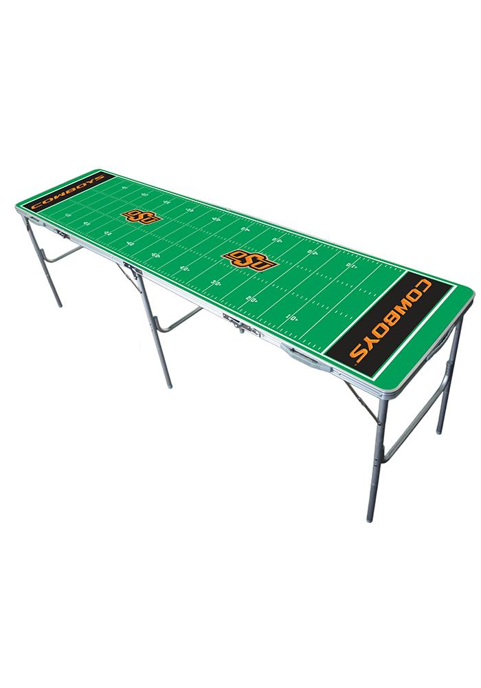 Oklahoma State Cowboys 2x8 Tailgate Table - Image 1