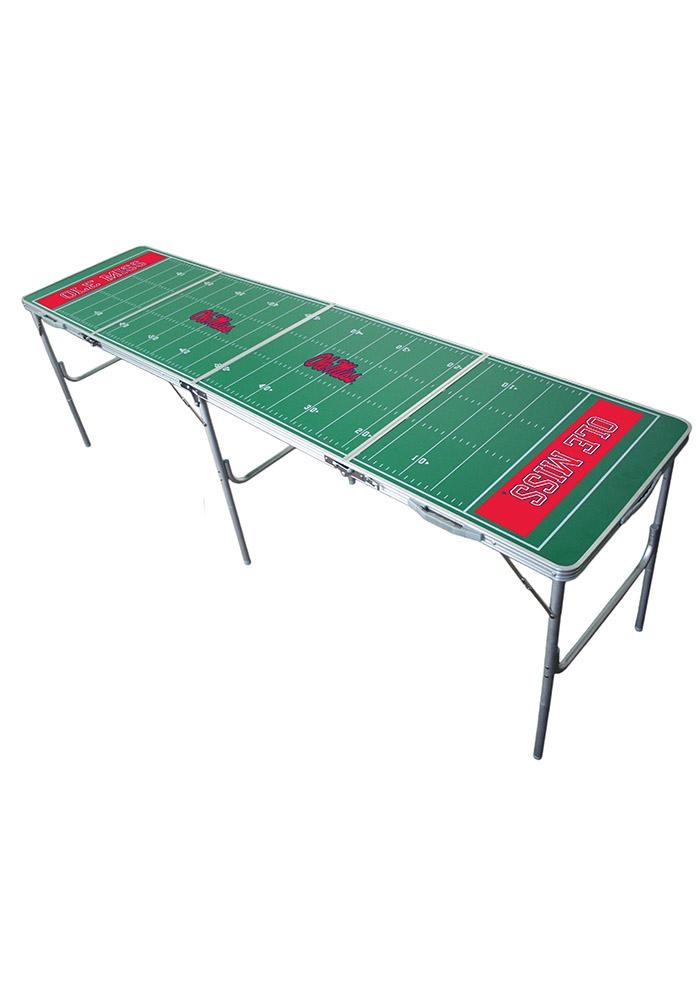 Ole Miss Rebels 2x8 Tailgate Table - Image 1
