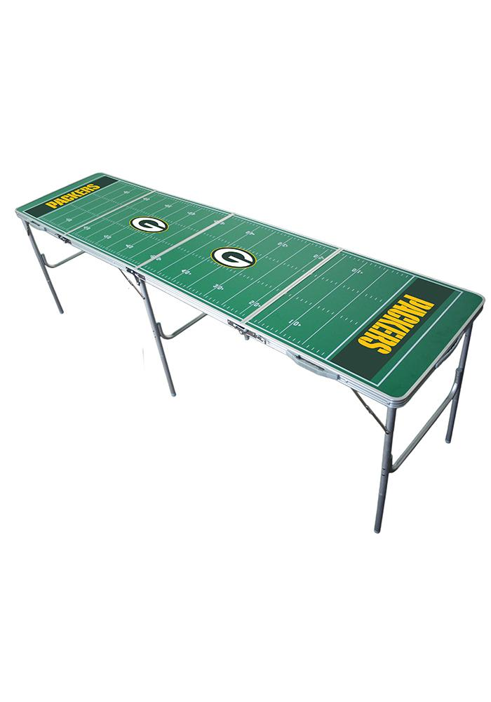 Green Bay Packers 2x8 Tailgate Table - Image 1