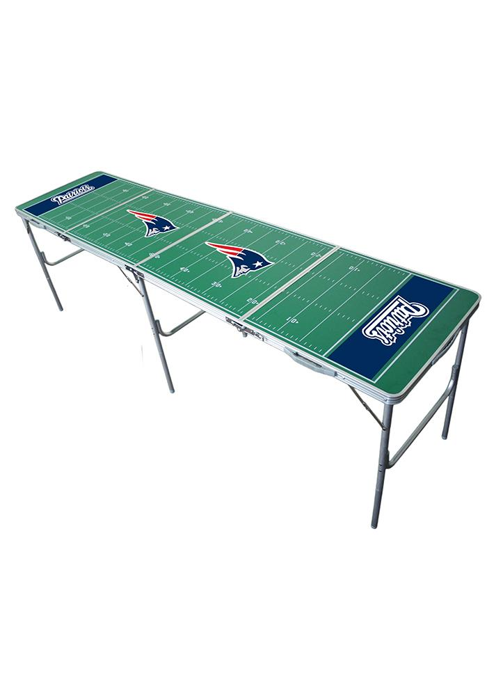 New England Patriots 2x8 Tailgate Table - Image 1