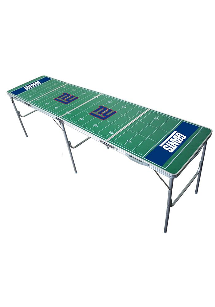 New York Giants 2x8 Tailgate Table - Image 1