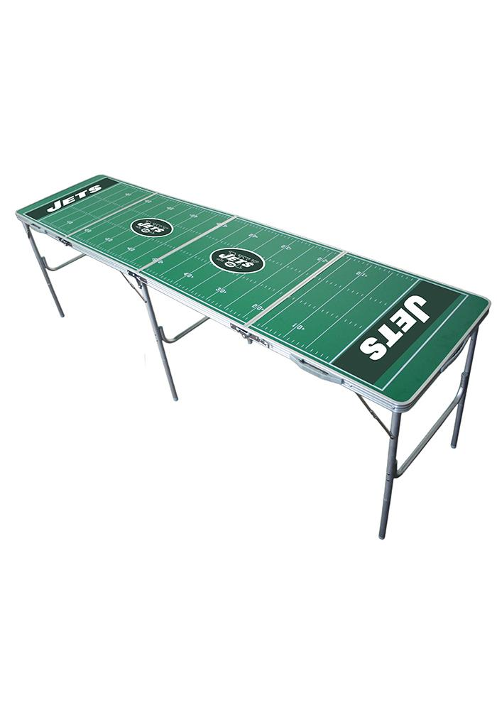 New York Jets 2x8 Tailgate Table - Image 1