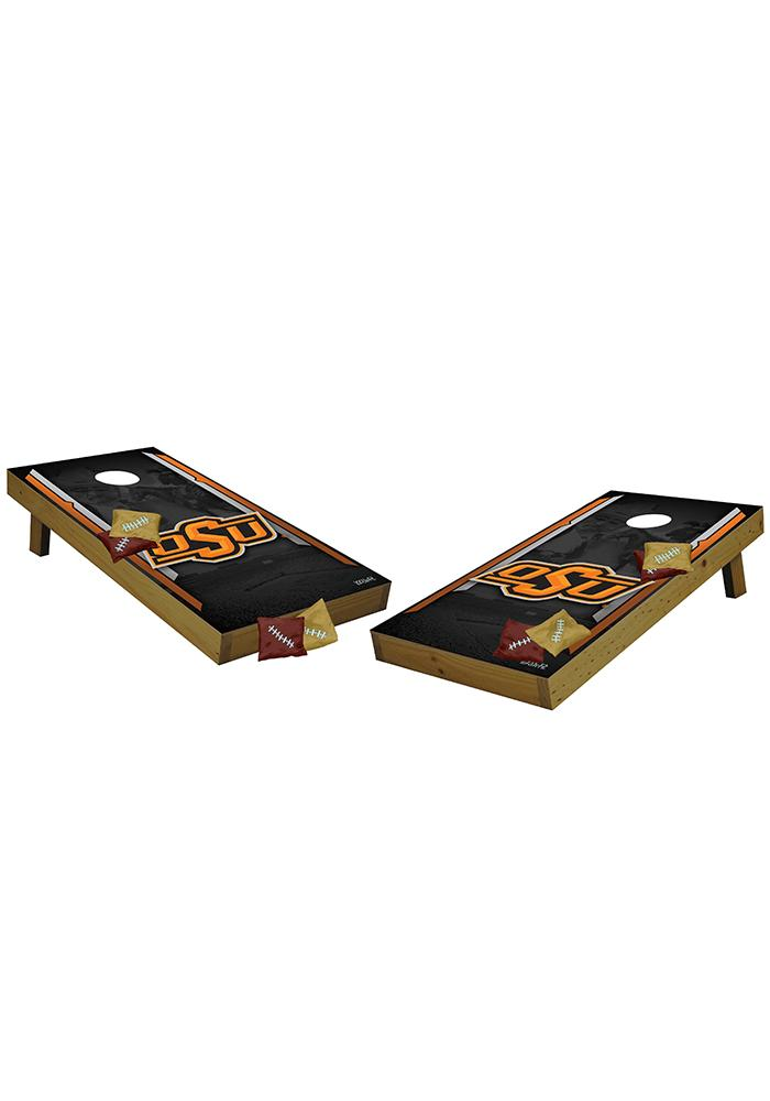Oklahoma State Cowboys 36x24 Toss Tailgate Game - Image 1