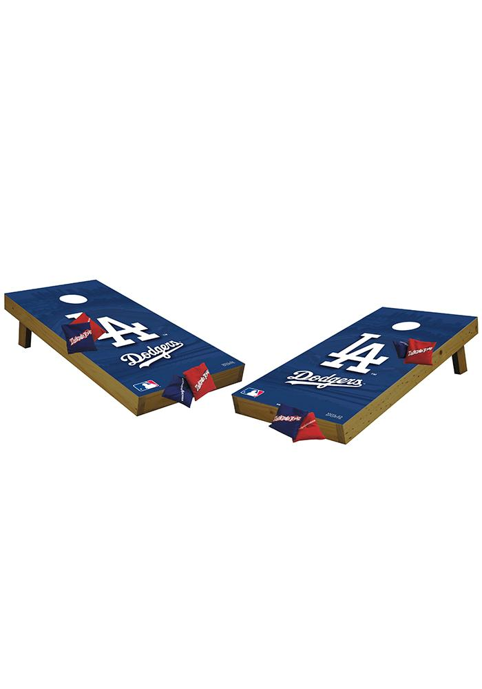 Los Angeles Dodgers 48x24 Cornhole Shields Tailgate Game - Image 1