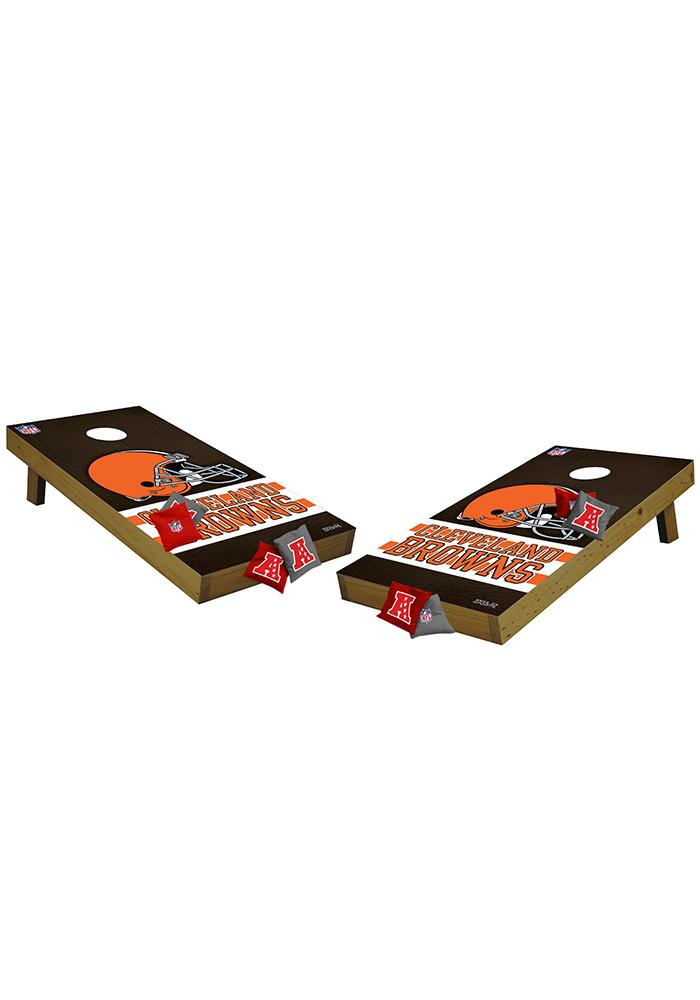 Cleveland Browns 48x24 Cornhole Shields Tailgate Game - Image 1