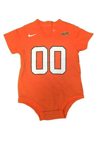 Oklahoma State Cowboys Baby Football Football Jersey - Orange