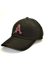 Arkansas Razorbacks Black Crew Youth Adjustable Hat