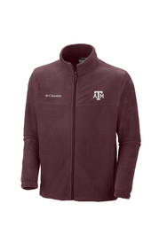 Columbia Texas A&M Mens maroon/grey Flanker 2 Light Weight Jacket