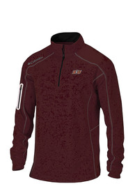 Columbia Bloomsburg University Huskies Maroon Shotgun 1/4 Zip Pullover