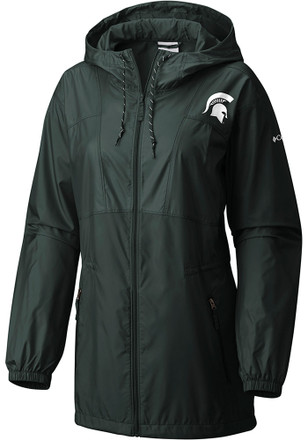 Columbia Michigan State Spartans Womens Flashback Light Weight Jacket