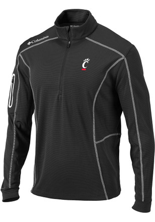 Columbia Cincinnati Mens Grey Shotgun 1/4 Zip Performance Pullover
