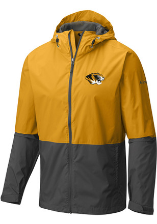 Columbia Missouri Tigers Mens Gold Roan Mountain Light Weight Jacket