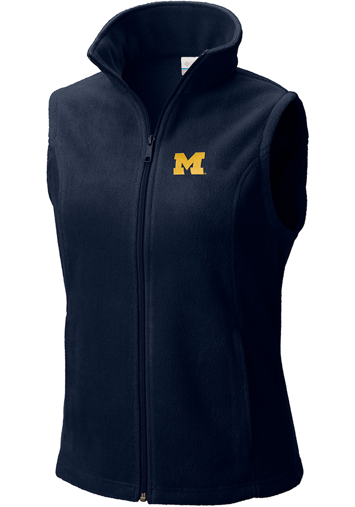 efbf089567fd7f Columbia Michigan Wolverines Womens Navy Blue Give and Go II Vest
