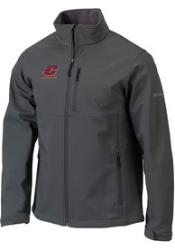 Central Michigan Chippewas Columbia Ascender Heavyweight Jacket - Charcoal