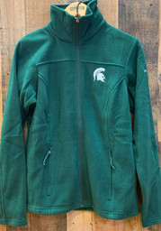 Columbia Michigan State Spartans Womens Give and Go II Light Weight Jacket