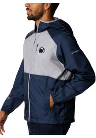 Penn State Nittany Lions Columbia Flash Forward Light Weight Jacket - Navy Blue