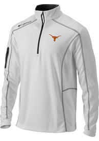 Texas Longhorns Columbia Shotgun 1/4 Zip Pullover - White