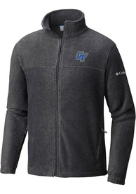 Grand Valley State Lakers Columbia Flanker Medium Weight Jacket - Charcoal