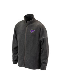 K-State Wildcats Columbia Flanker II Light Weight Jacket - Charcoal