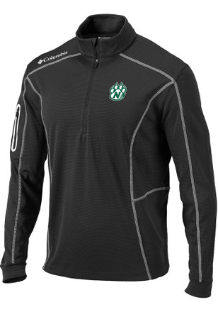 Columbia Northwest Missouri State Bearcats Mens Grey Shotgun 1/4 Zip Pullover